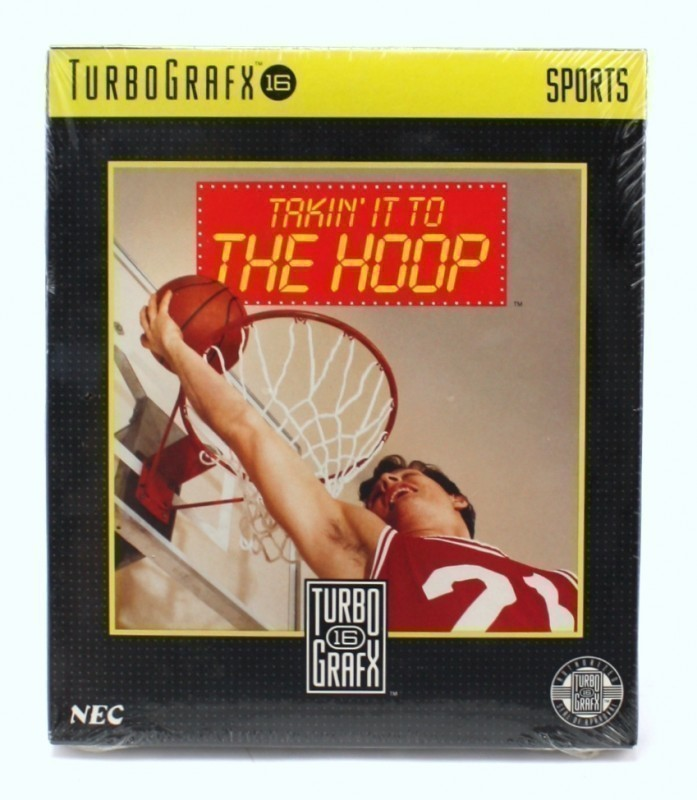 PC Engine / TurboGrafX - Takin\' it to The Hoop