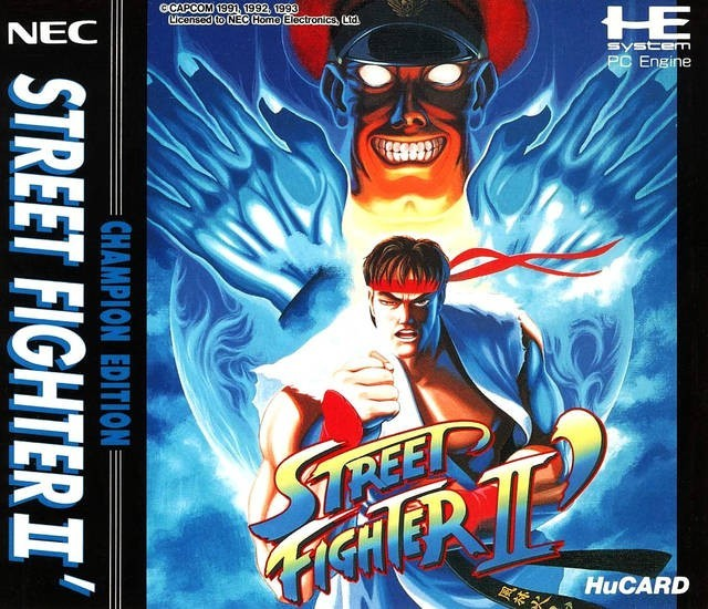PC Engine / TurboGrafX - Street Fighter II Champion Edition