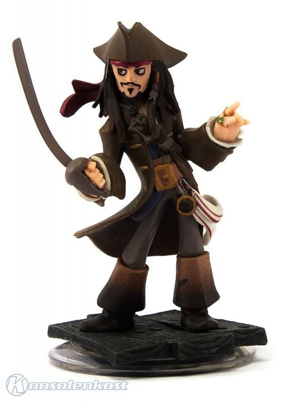 Disney Infinity - Figur: Käpt´n Jack Sparrow (Figur beschädigt) (gebraucht)
