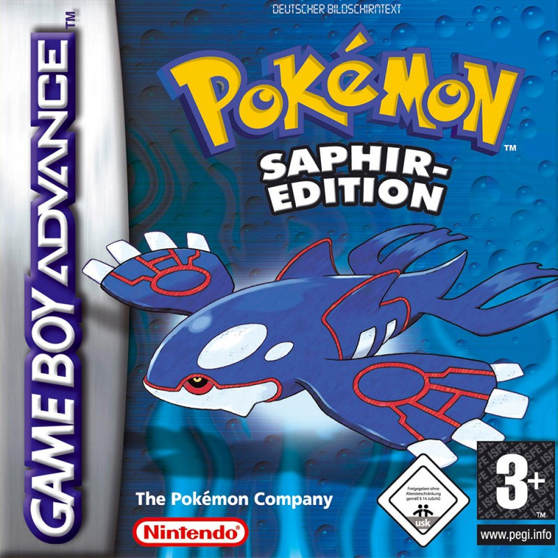 Pokemon Saphir Edition