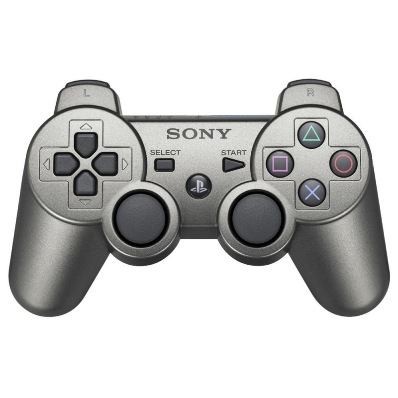 Original Dualshock 3 Wireless Controller #metallic-grau