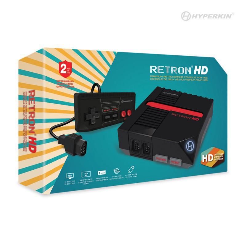RetroN - RetroN 1 HD Konsole #schwarz [Hyperkin...