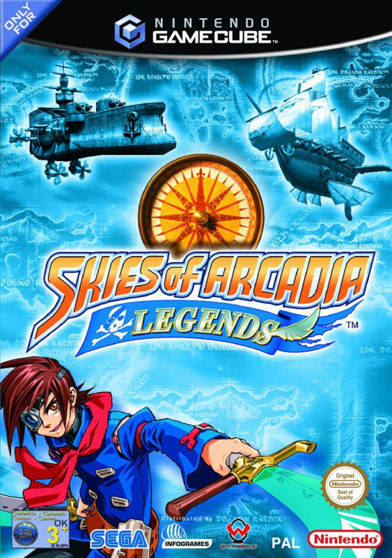 GameCube - Skies of Arcadia Legends (mit OVP) (...