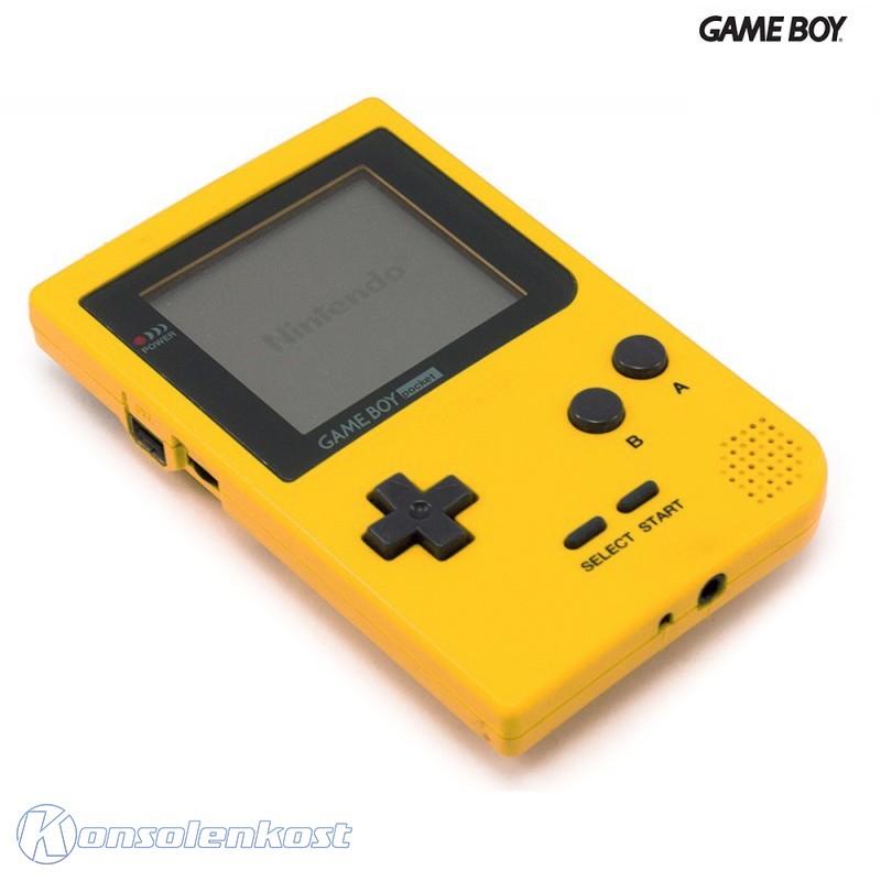 gameboy pocket konsole gelb kaufen 9050960 konsolenkost. Black Bedroom Furniture Sets. Home Design Ideas