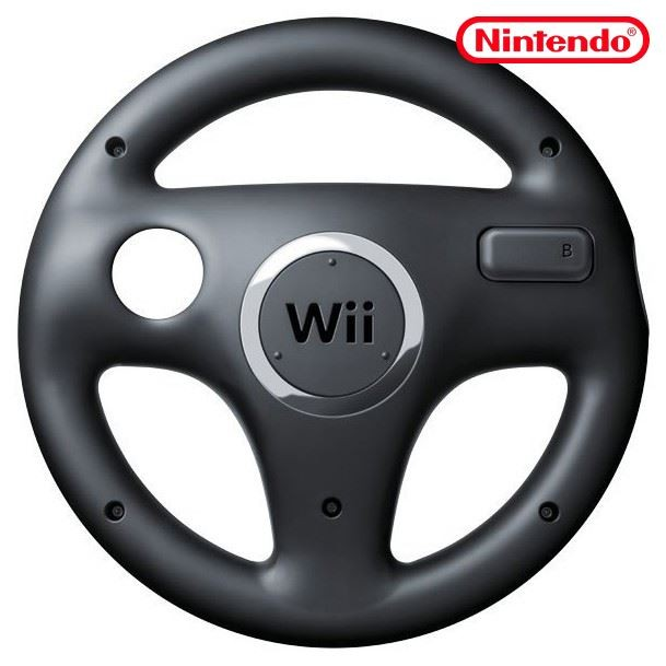 wii original controller aufsatz lenkrad racing wheel. Black Bedroom Furniture Sets. Home Design Ideas