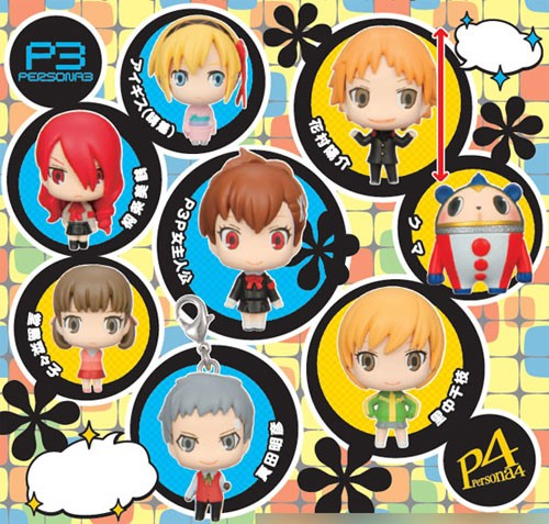 Persona 3 + 4 Game Character Collection Vol. 2 Anhänger: Yosuke Hanamura (Cross-dressing)