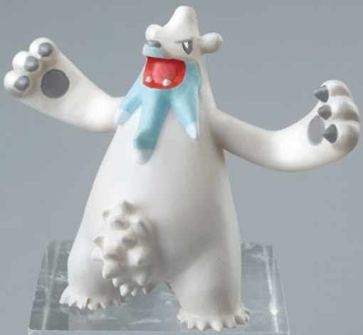 Pokemon Clipping Figure Movies Mini Figur: Siberio / Beartic