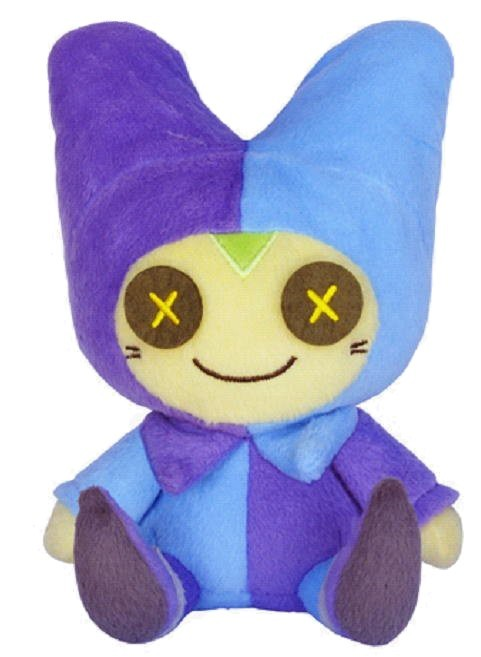 Dragon Quest X (The Awakening of the Five Tribes) Stofftier / Plüsch Figur: Pukuripo Man / Male 24 cm