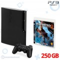 Konsole Slim 250GB + Original Wireless Controller + Uncharted 2