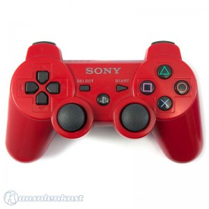 Original DualShock 3 Wireless Controller #rot [Sony]
