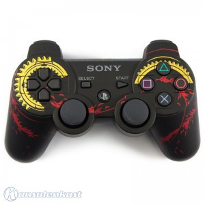 Original Dualshock 3 Wireless Controller #Tales of Xillia 2 Limited Edition