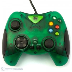 Controller / Pad #grün-transparent X-Warrior (SL-2216) [Speedlink]