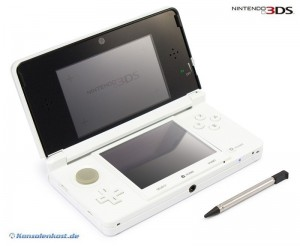 3DS Konsole #Ice White