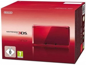 3DS Konsole #Metallic Red