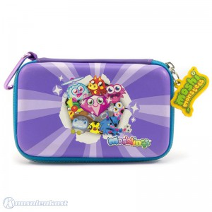 Tasche / Carry Case / Travel Bag / Hard Case #lila Moshi Monsters Moshlings