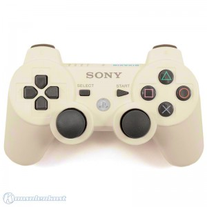 original Sixaxis Wireless Controller / Pad #weiß [Sony] (vergilbt)