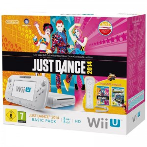 Konsole #weiß 8GB + Just Dance 2014 & Nintendo Land