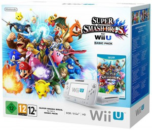 Konsole 8 GB #weiß Super Smash Bros Basic Pack