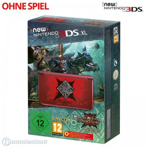 Konsole XL #Monster Hunter G Edit. + Netzteil