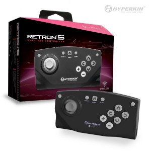 Original Wireless RetroN 5 Controller schwarz