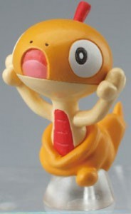 Pokemon Clipping Figure Movies Mini Figur: Zurrokex / Scraggy