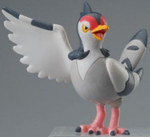 Pokemon Clipping Figure Movies Mini Figur: Navitaub / Tranquill