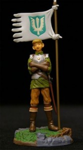 Berserk Mini Figure Vol. 5 (V) Band of the Hawk Figur: Rickert