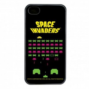 Space Invaders iPhone Schale / Cover (für iPhone 4 & 4S)