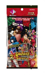 One Piece Film: Z AR Carddass Formation 03 AR-OPF03 Sammelkarten: 1 Pack