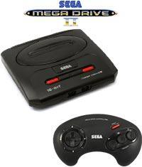 Sega mega drive controller amiga