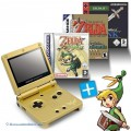 Konsole GBA SP + Zelda II + A Link to the Past + Minish Cap + Netzteil