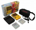 Konsole #Gelb Limited Collectors Edition + 2 Mario Spiele
