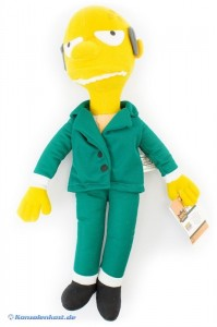 The Simpsons Stoffpuppe #Mr. Burns