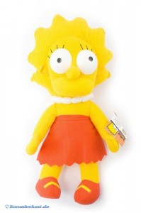 The Simpsons Stoffpuppe #Lisa Simpson