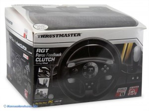 RGT Force Feedback Clutch Racing Wheel / Lenkrad [Thrustmaster]