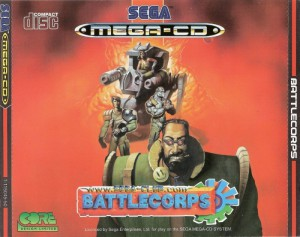 Battlecorps #Englisches Cover