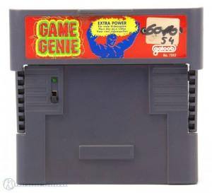 Game Genie Extra Power [galoob] + Codebuch