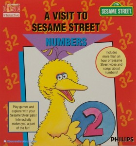 Philips CD-i - A Visit to Sesame Street: Numbers