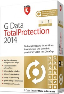 G Data TotalProtection 2014 3PC