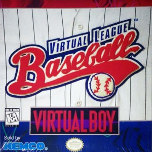Virtual Boy - Virtual League Baseball