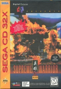 Mega CD - Supreme Warrior