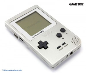 GameBoy Pocket Konsole #Silber