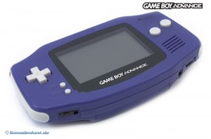 GameBoy Advance Konsole #Purple/Lila
