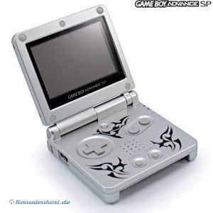 Konsole GBA SP #Tribal Edition