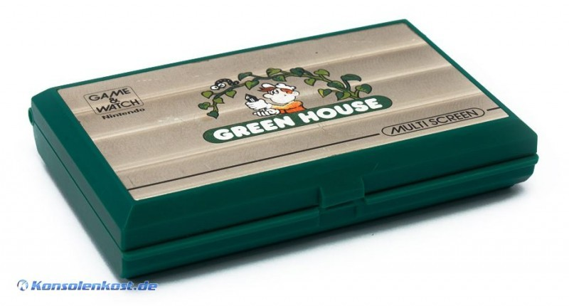 Nintendo Game & Watch - Green House (ohne Batte...