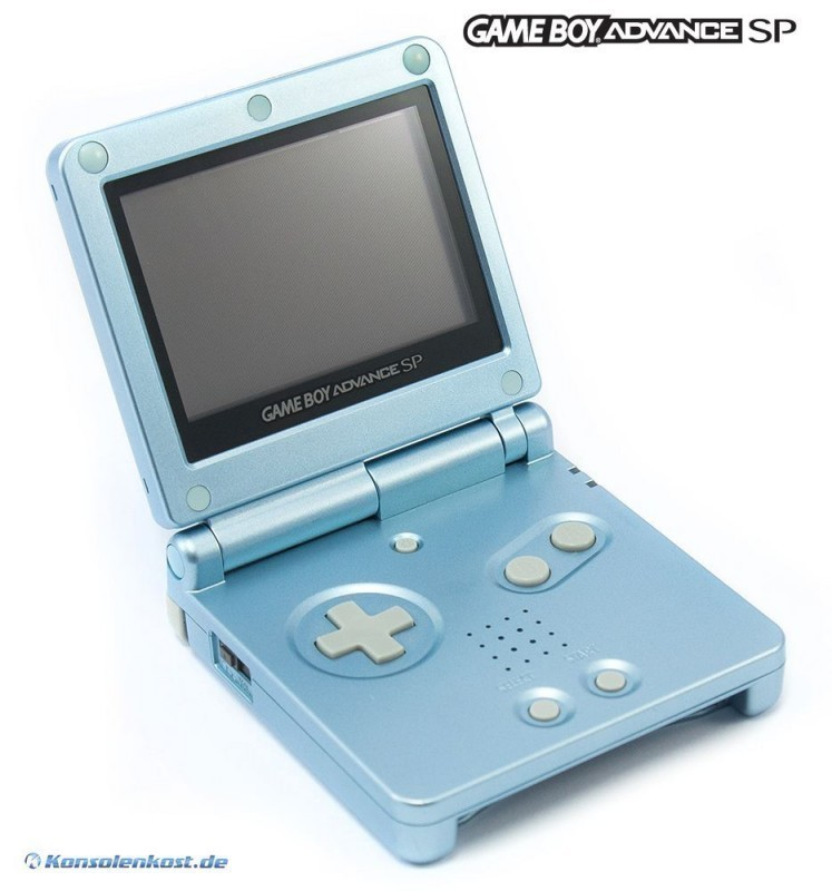 Konsole GBA SP #Arctic Blue