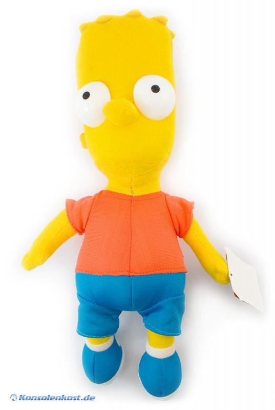 The Simpsons Stoffpuppe #Bart Simpson