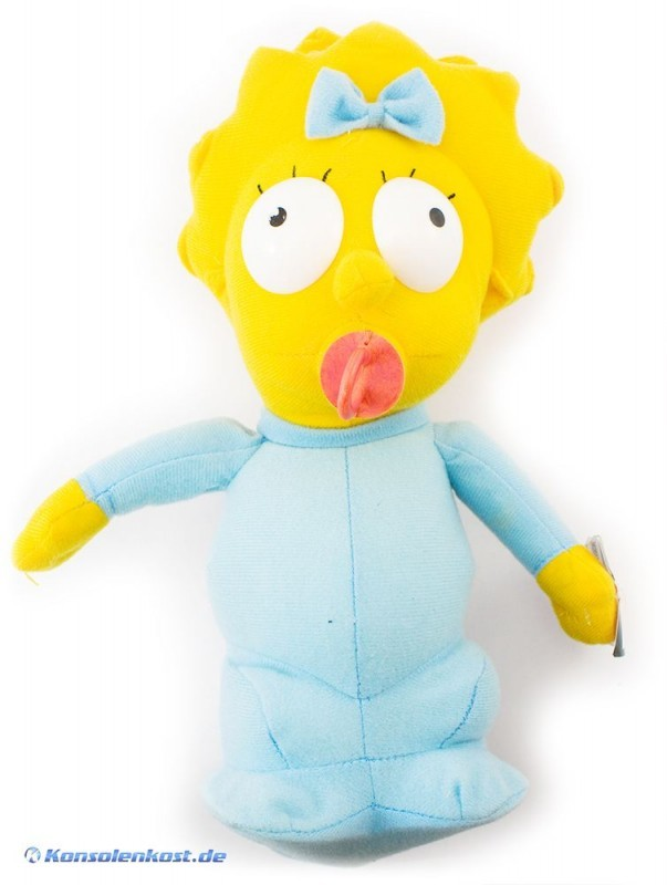 The Simpsons Stoffpuppe #Maggie Simpson