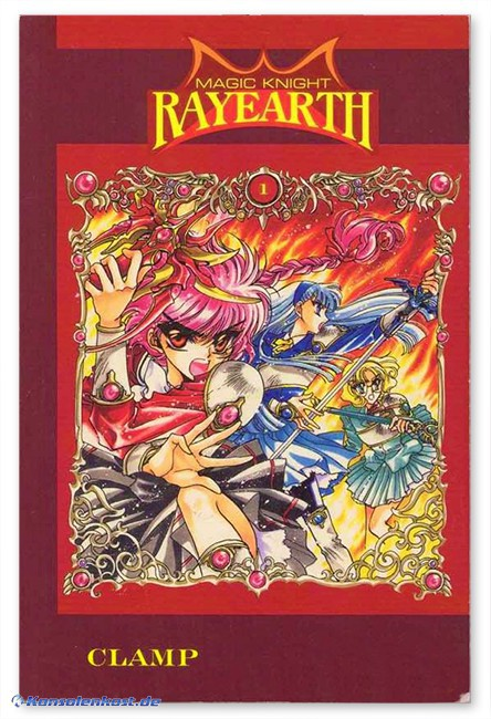 Magic Knight Rayearth - Vol. 1