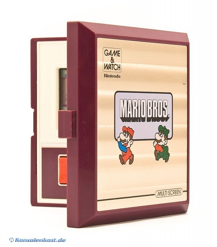 Nintendo Game & Watch: Mario Bros. (Multi Screen) (sehr guter Zustand)
